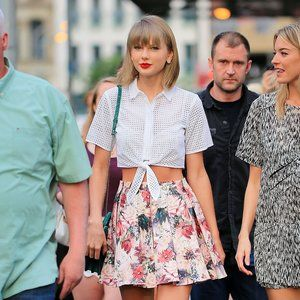 Taylor Swift Haute Hippie Skirt & Michael Kors Top